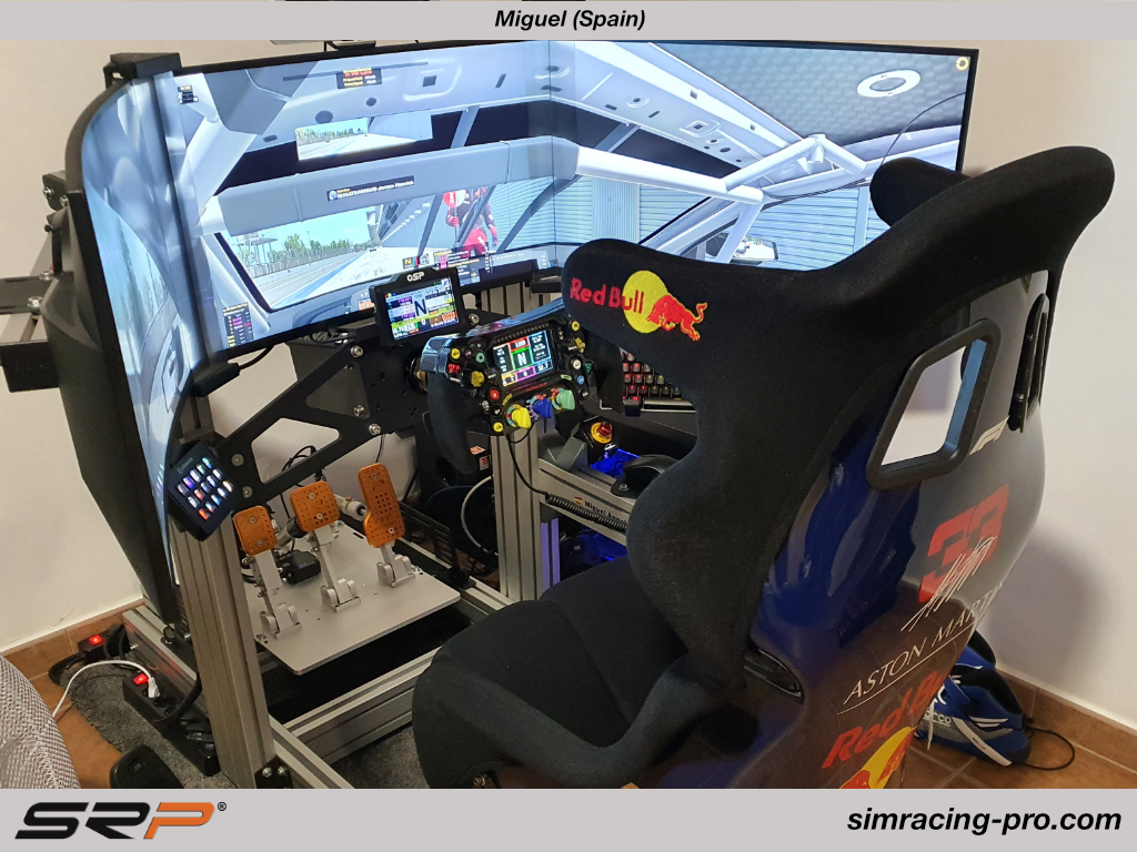 SRP-GT Simracing pedals, Miguel (Spain)