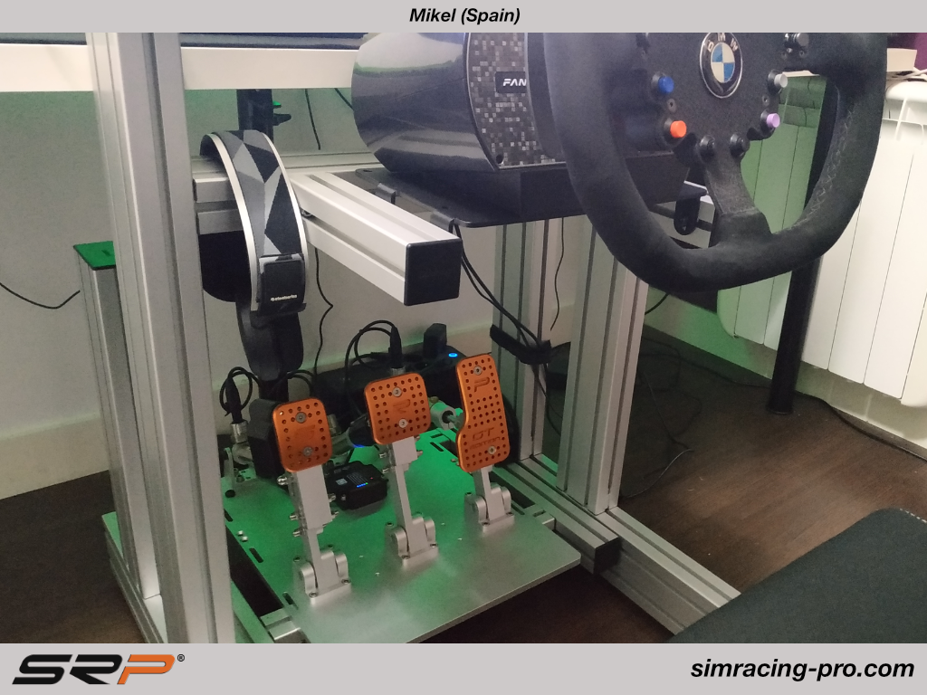 SRP-GT Simracing pedals, Mikel (Spain)